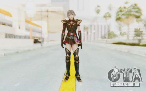 Dynasty Warriors 8: Xtreme Legends - Lu Lingqi 1 para GTA San Andreas segunda tela