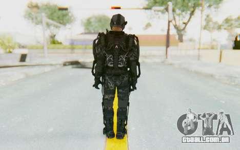 CoD Advanced Warfare ATLAS Soldier 1 para GTA San Andreas terceira tela
