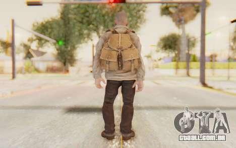 COD BO Russian Soldier v2 para GTA San Andreas terceira tela