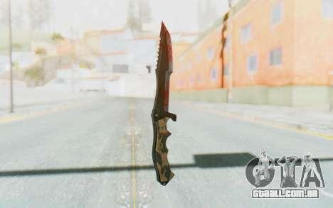 Huntsman Knife para GTA San Andreas segunda tela