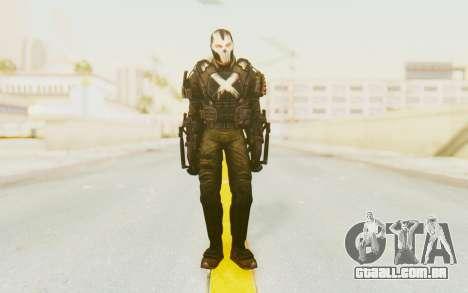 Marvel Heroes - Crossbones para GTA San Andreas segunda tela