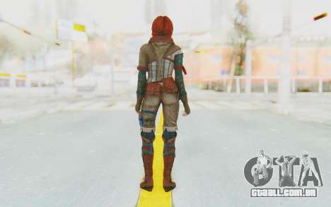 The Witcher 3 - Triss Merigold WildHunt Outfit para GTA San Andreas terceira tela