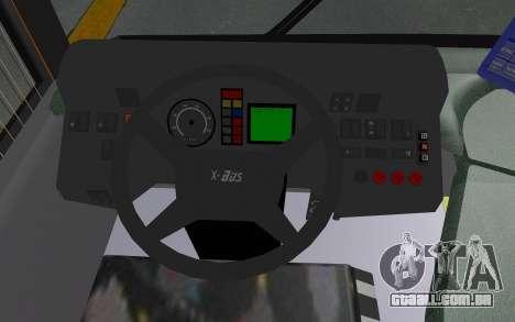 MAN Lion City 23267 para GTA San Andreas vista interior