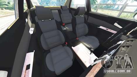 GTA 5 Toyota Camry V50 frente vista lateral direita