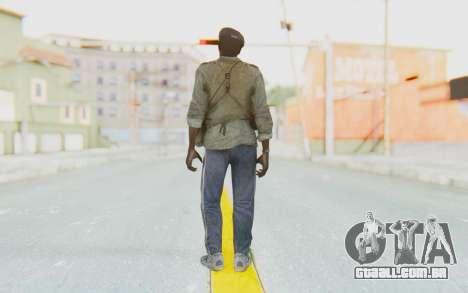 CoD MW3 Africa Militia v4 para GTA San Andreas terceira tela