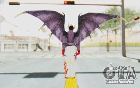 Devil Kazuya para GTA San Andreas terceira tela