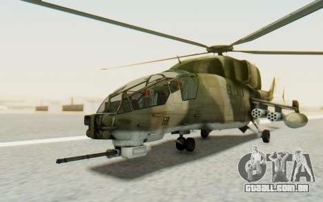 WZ-19 Attack Helicopter Asian para GTA San Andreas