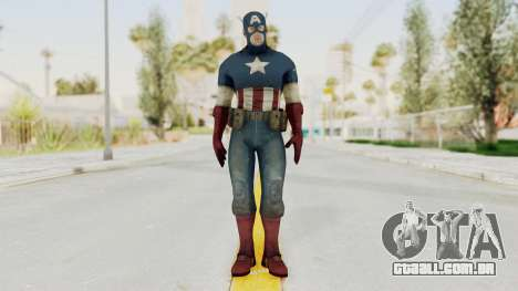Captain America Super Soldier Classic para GTA San Andreas segunda tela