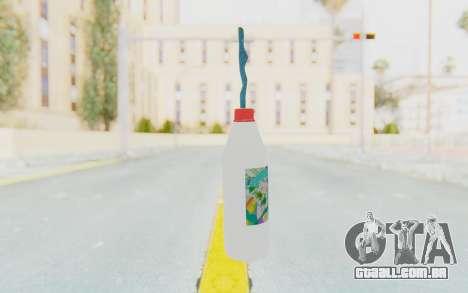 Hatsuni Miku Molotov para GTA San Andreas segunda tela