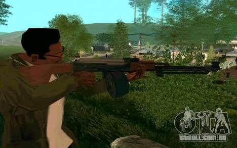 O PKK para GTA San Andreas segunda tela