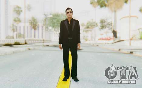 Mafia 2 - Vito Scaletta Madman Suit Black para GTA San Andreas segunda tela