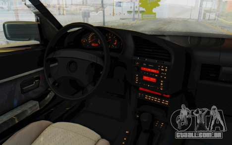 BMW 325tds E36 para GTA San Andreas vista interior
