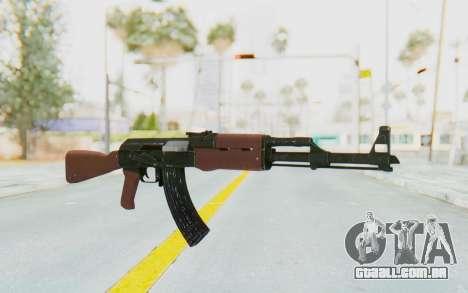 GTA 5 Shrewsbury Assault Rifle para GTA San Andreas segunda tela