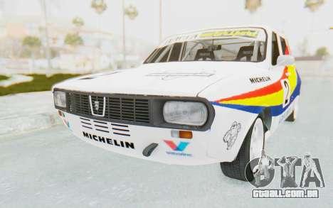 Dacia 1300 Rally para GTA San Andreas vista direita