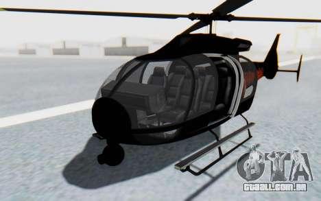 GTA 5 Maibatsu Frogger Trevor IVF para GTA San Andreas vista direita