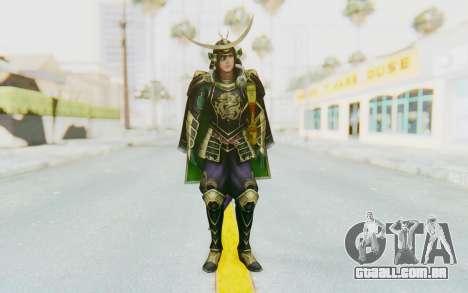 Sengoku Musou 4 - Date Masamune para GTA San Andreas segunda tela