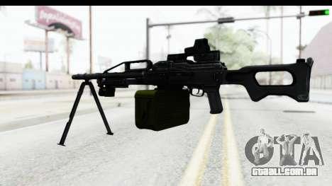 Kalashnikov PK (PKM) Holo para GTA San Andreas terceira tela