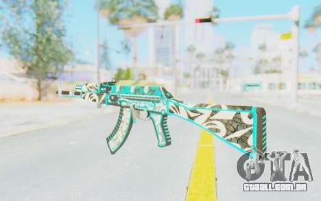 CS:GO - AK-47 Front Side Misty para GTA San Andreas segunda tela