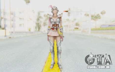 Dynasty Warriors 8 - Lu Lingqi v2 para GTA San Andreas segunda tela