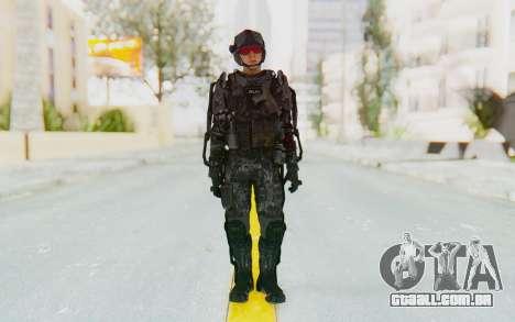 CoD Advanced Warfare ATLAS Soldier 1 para GTA San Andreas segunda tela