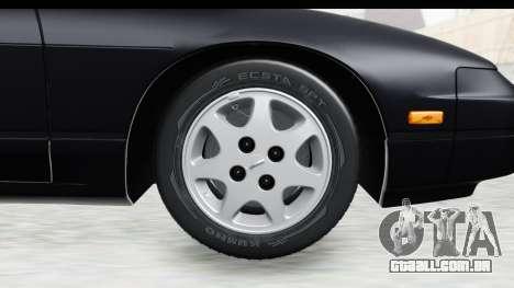 Nissan 240SX 1994 v2 para GTA San Andreas vista traseira
