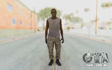 CoD MW3 Africa Militia v5 para GTA San Andreas segunda tela