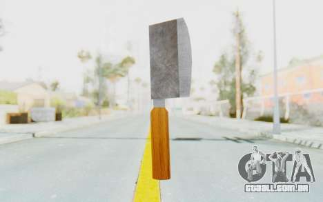 Butcher Knife para GTA San Andreas