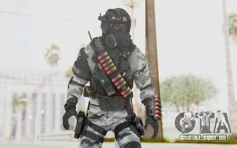 Federation Elite Shotgun Arctic para GTA San Andreas