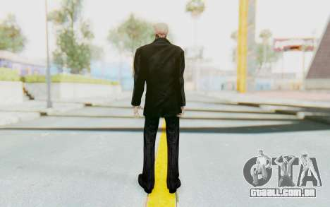 Skeleton in Tuxedo para GTA San Andreas terceira tela