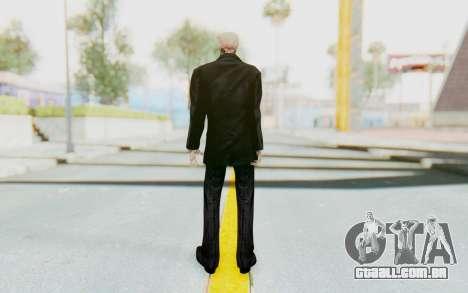 Skeleton in Tuxedo para GTA San Andreas terceira tela