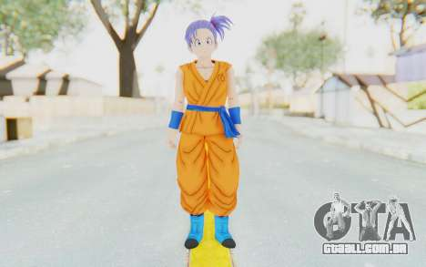 Dragon Ball Xenoverse Female Saiyan SJ para GTA San Andreas segunda tela