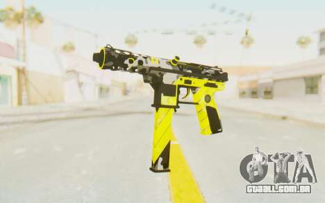 Tec-9 Neural Yellow para GTA San Andreas