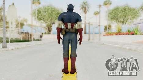Captain America Super Soldier Classic para GTA San Andreas terceira tela