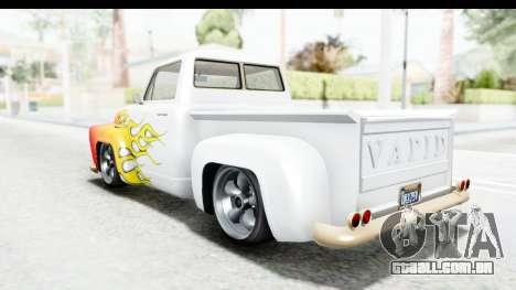 GTA 5 Vapid Slamvan without Hydro IVF para as rodas de GTA San Andreas
