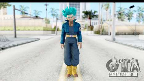 Dragon Ball Xenoverse Future Trunks SSGSS para GTA San Andreas segunda tela