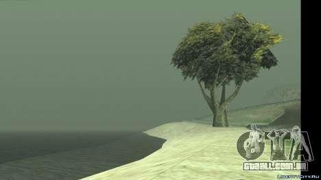 A mudança de clima e tempo para GTA San Andreas segunda tela