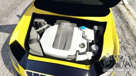 GTA 5 Audi A4 2009 vista lateral direita