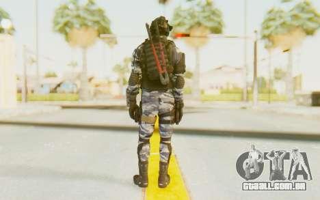 Federation Elite SMG Urban-Navy para GTA San Andreas terceira tela