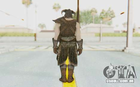 Skyrim - Dovahkiin para GTA San Andreas terceira tela