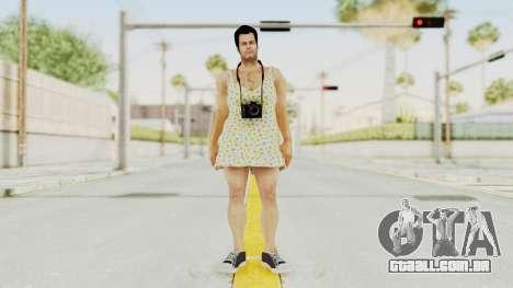 Dead Rising 2 Off The Record Frank West Dress para GTA San Andreas segunda tela