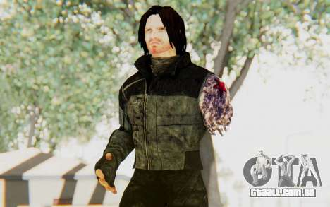 Bucky Barnes (Winter Soldier) v2 para GTA San Andreas