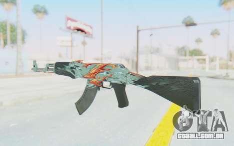 CS:GO - AK-47 Aquamarine Revenge para GTA San Andreas segunda tela