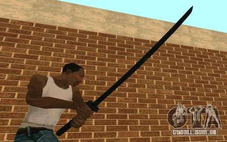 Sword of Blades para GTA San Andreas terceira tela