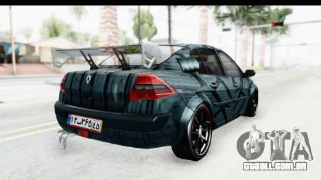 Renault Megane Sport para GTA San Andreas esquerda vista