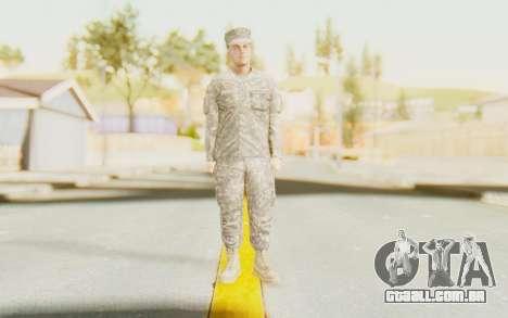 Military Casual Outfit para GTA San Andreas segunda tela