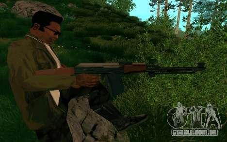 O PKK para GTA San Andreas quinto tela