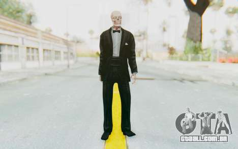 Skeleton in Tuxedo para GTA San Andreas segunda tela