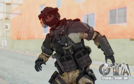 Federation Elite LMG Desert para GTA San Andreas
