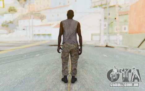 CoD MW3 Africa Militia v5 para GTA San Andreas terceira tela