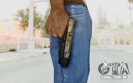 HK USP 45 Army para GTA San Andreas terceira tela
